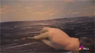 Корабль. Море. уроки живописи .Игорь сахаров