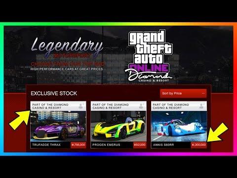 GTA Online The Diamond Casino & Resort DLC Update - $100,000,000 SPENDING SPREE! BUYING EVERYTHING!