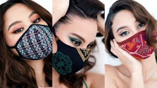Philippine Handwoven Fabric Inspired Makeup Looks 🇵🇭💛💋 | Catriona Gray