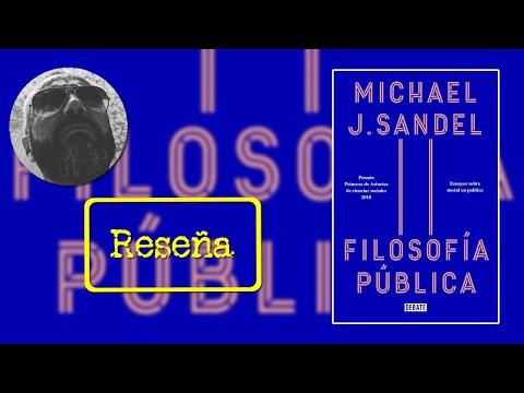 Filosofía pública, de Michael J. Sandel