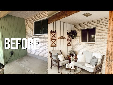 THRIFT STORE PATIO MAKEOVER
