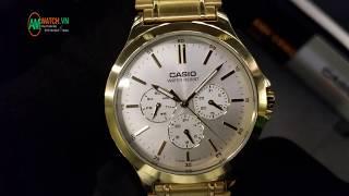 Review Đồng Hồ Casio MTP-V300G-7AUDF [4K] - AMwatch.vn