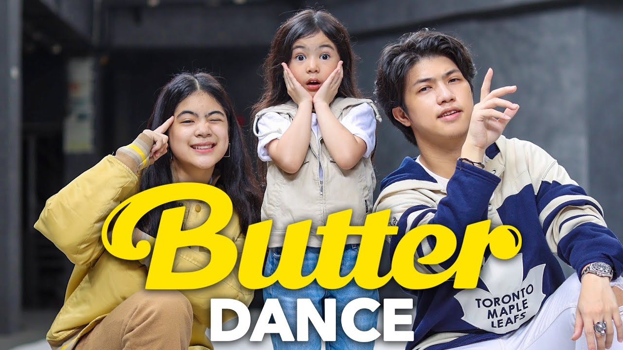 BTS - BUTTER Siblings Dance | Ranz and Niana Ft natalia