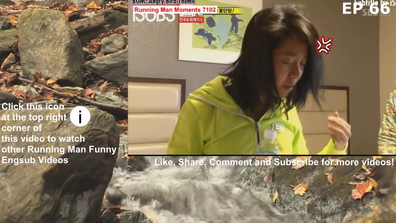 Funny Song Ji Hyo get annoyed when Gary wash her feet / Running Man morning  body care miss