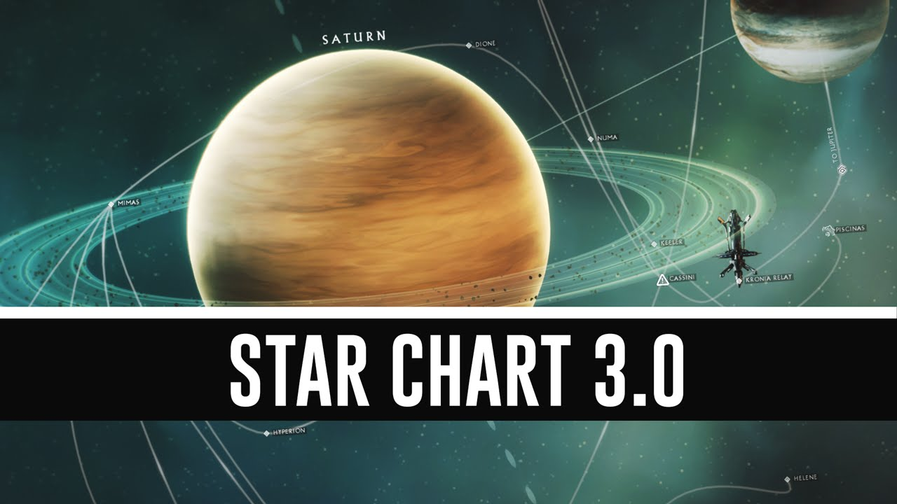 Star Chart 3 0 All You Need To Know Warframe Youtube