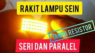 Cara membuat lampu LED Sein Motor