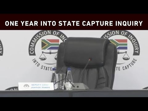 One year into state capture inquiry: The highlights