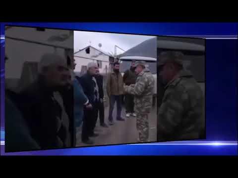 Армяне попросили помощи у азербайджанских военных