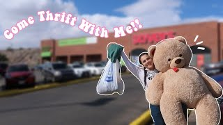 COME THRIFT WITH ME! 🧸🛍