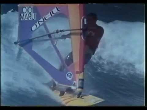 Windsurf - Uhaina Winds Compilation - Wind Series - Three Videos - 1988