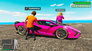 Stealing My GIRLFRIEND'S $1,000,000 Supercar in GTA 5 RP