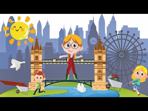 Today we sing London Bridge is Falling Down newest nursery rhymes song
