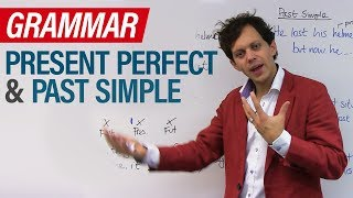 Learn English Tenses: PRESENT PERFECT and PAST SIMPLE