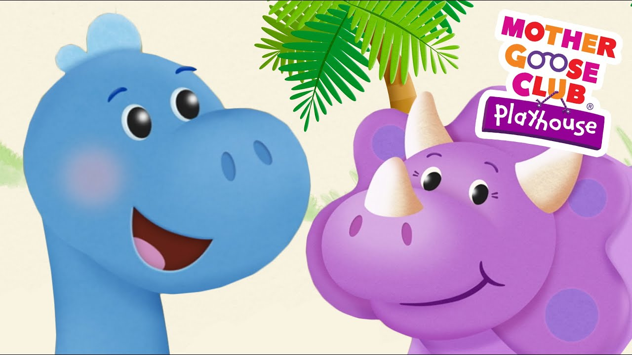 Dinosaur Stomp Mother Goose Club Playhouse Kids Song