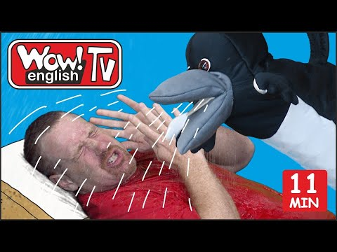 Summer Holiday English Stories For Children With Steve And Maggie | Learn Wow English TV