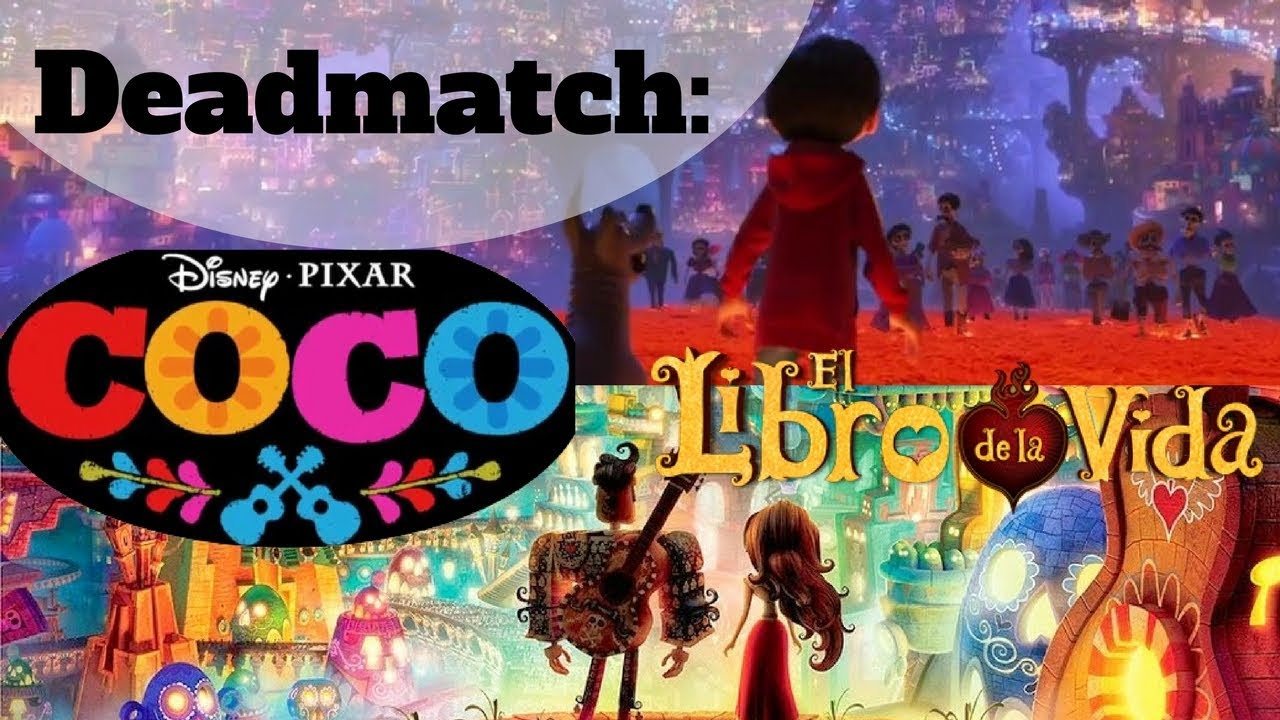 DeadMatch: El Libro De La Vida Vs Coco
