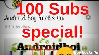 100 SUBSCRIBER
