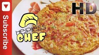 Masala मसाला  Omlette Homemade Quick & Easy MUST TRY!!!