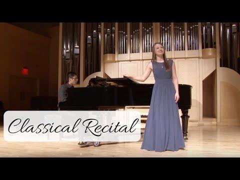Classical Recital - Kelsey VanSuch