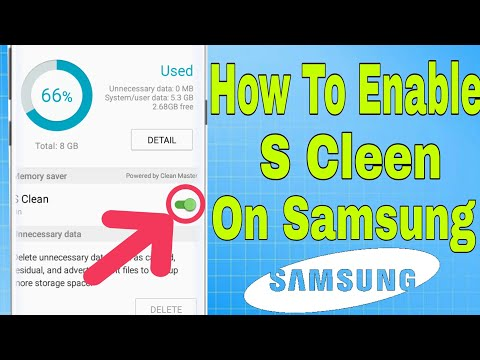 How to Enable S Clean on Samsung SmartphoneNo Root