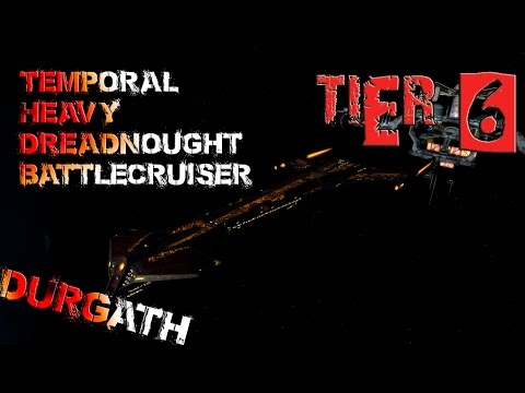 Durgath Temporal Heavy Dreadnought Battlecruiser [T6] – with all ship visuals - Star Trek Online