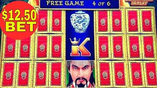 ★NEW Dragon Link★ Dragon Link Slot Machine $12.50 & $7.50 Free Games Won !High Limit Denomination