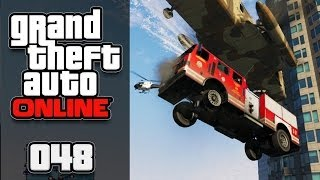 GTA ONLINE [HD+] #048 - WEE TEE EFF!! Die Fliegende Feuerwehr! ★ Let