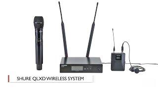 Компанія Shure QLX-D в бездротової системі: руки на коментар