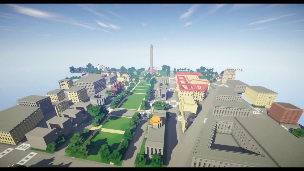 Washington D C Minecraft Youtube