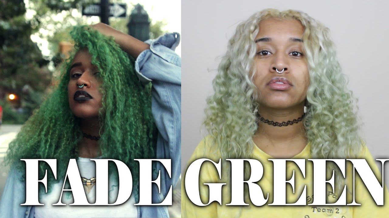 How To Fade Green Hair Dye Get Rid Of Semi Permanent Hair Dye