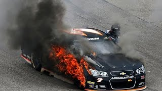 Bowman'S Tire Catches Fire
