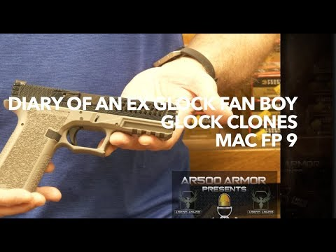 Diary of An Ex Glock Fan Boy-Glock Clones-MAC FP 9 Pistol