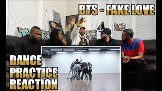 [CHOREOGRAPHY] BTS (방탄소년단) 'FAKE LOVE' Dance Practice REACTION/REVIEW