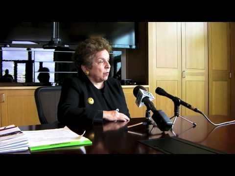 Dr. Donna Shalala Visits OHSU