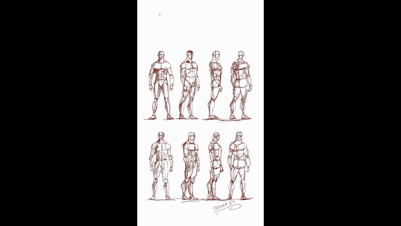 Human Anatomy Sketches How To Draw Human Figures Youtube