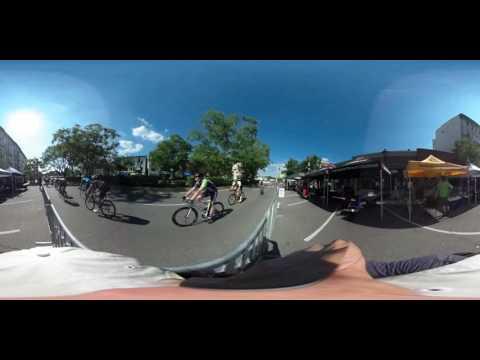 360 Degree Interactive Video of Bike Race at Hyde Park Blast Cincinnati 2016