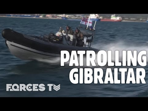 What Does The Royal Navy Do In Gibraltar? | Forces TV