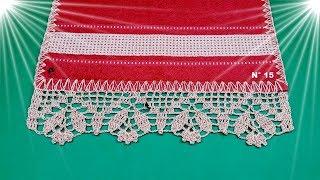 Veja um Modo Simples de Fazer Barradinho em Crochê