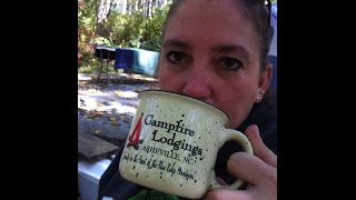 BLUE RIDGE CAMPING GETAWAY! Asheville North Carolina Mast General Store Campfire Lodgings