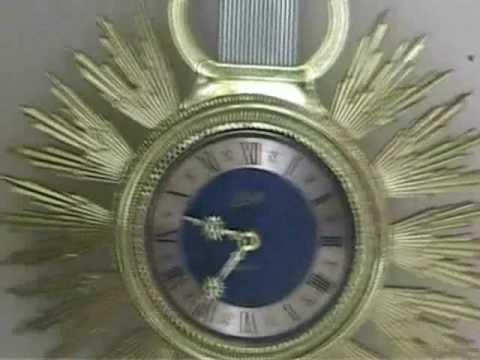 Schatz Swinging Clock Queen Anne Doovi
