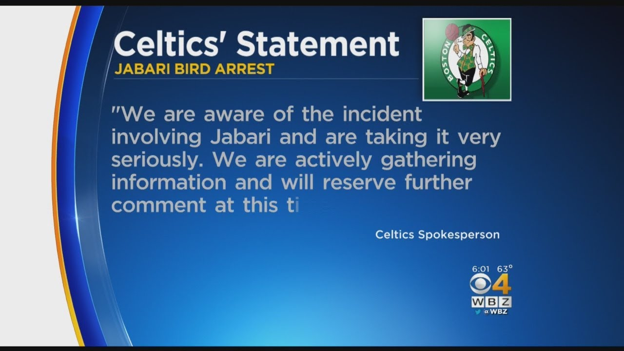 The Latest: Celtic Jabari Bird taking time off amid charges