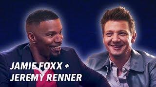 Jamie Foxx Interviews Jeremy Renner    OFF SCRIPT a Grey Goose Production