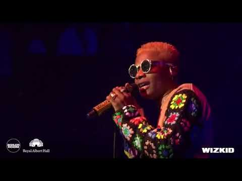 WIZKID 2 HOURS LIVE PERFORMANCE AT ROYAL ALBERT HALL LONDON (HD)