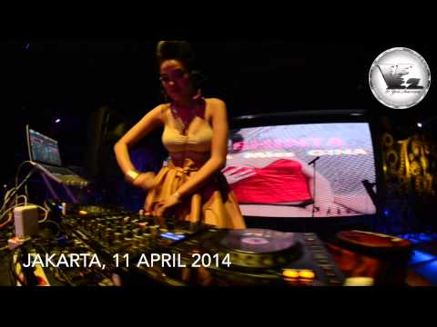 V2 Club Jakarta DJ SHINTA KRISNA & GINA PUTRI LIVE P A