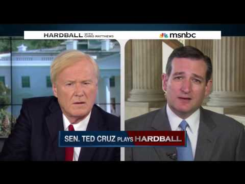 Ted Cruz Plays Hardball with Chris Matthews