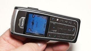 Nokia 6230 Grey brown. Retro Telefon aus Deutschland. Retro phone. Капсула времени телефон