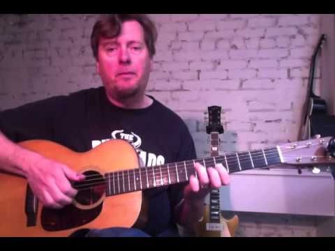 Fingerstyle Blues Improv - #2 Minor Chords - Guitar Lesson - Pete Madsen