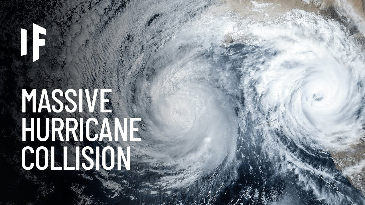 What If Two Hurricanes Collided?
