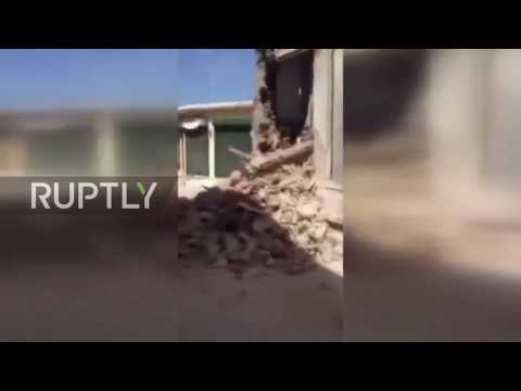 Greece: Earthquake leaves Lesbos homes in ruins