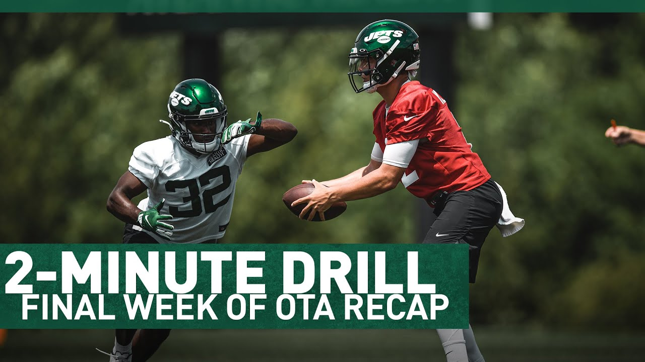 Takeaways From The Final Week Of OTAs | 2-Minute Drill: OTA Recap | The New York Jets | NFL